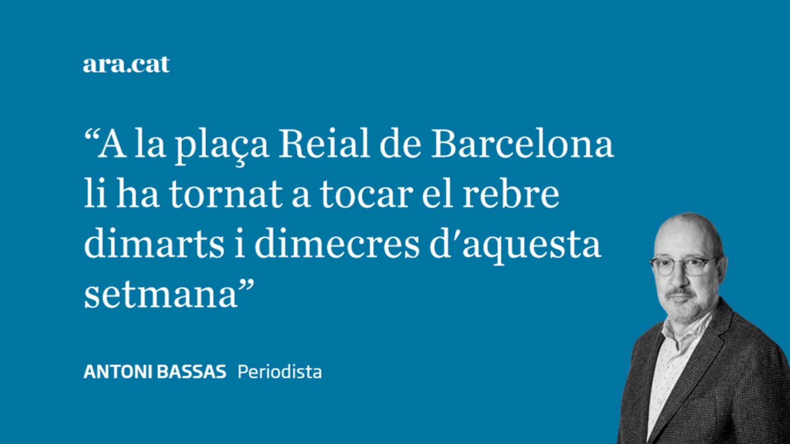 A algú li importa la plaça Reial de Barcelona?