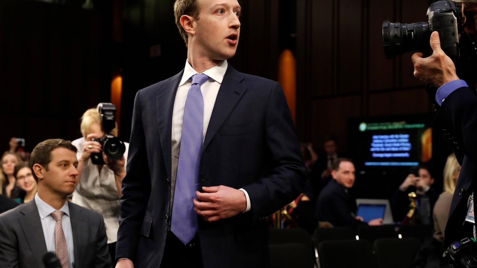 EN DIRECTE: Zuckerberg dona explicacions al Congrés dels Estats Units sobre la macrofiltració de dades