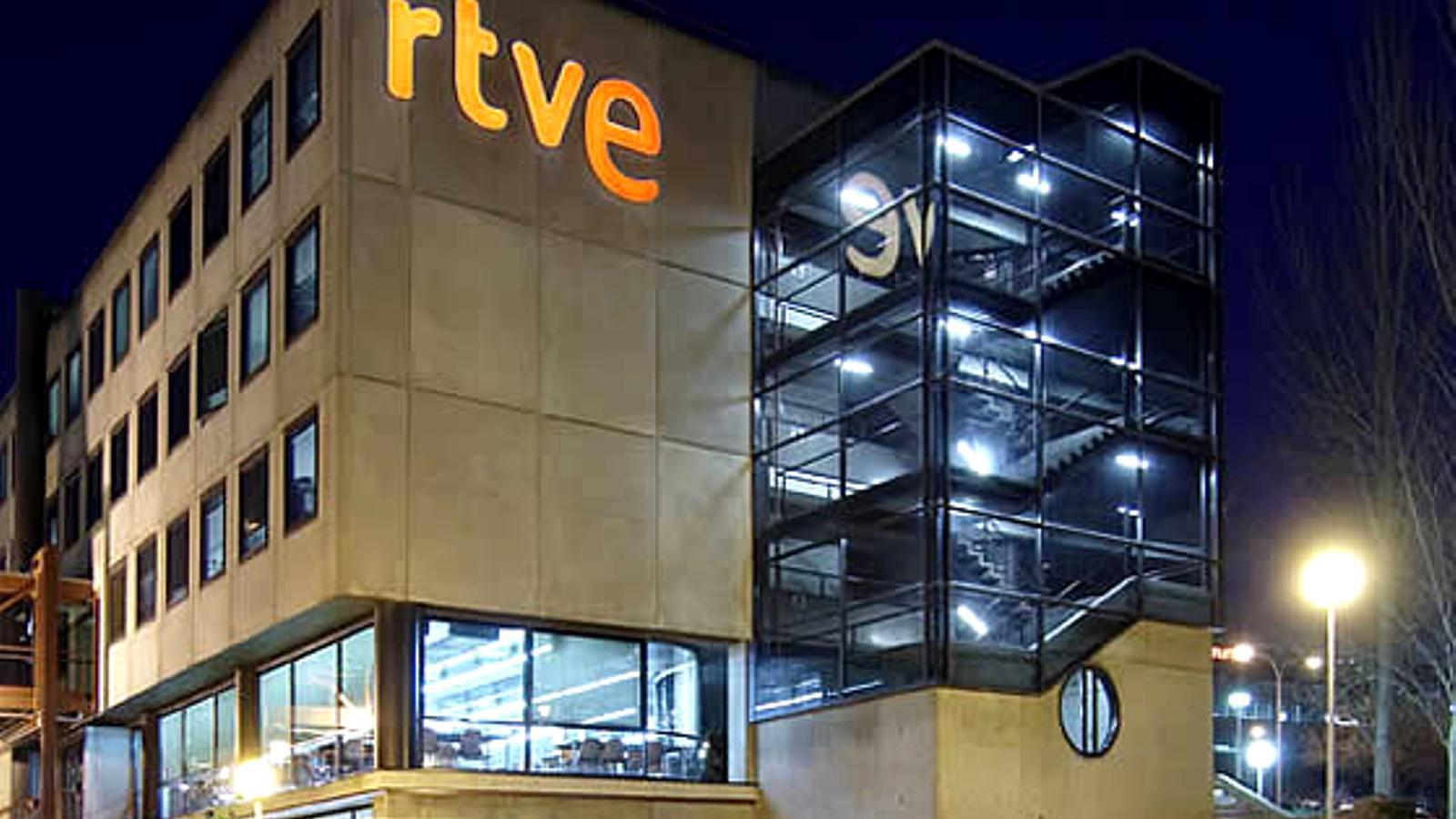 Els treballadors de RTVE convoquen aturades parcials al març i a l'abril