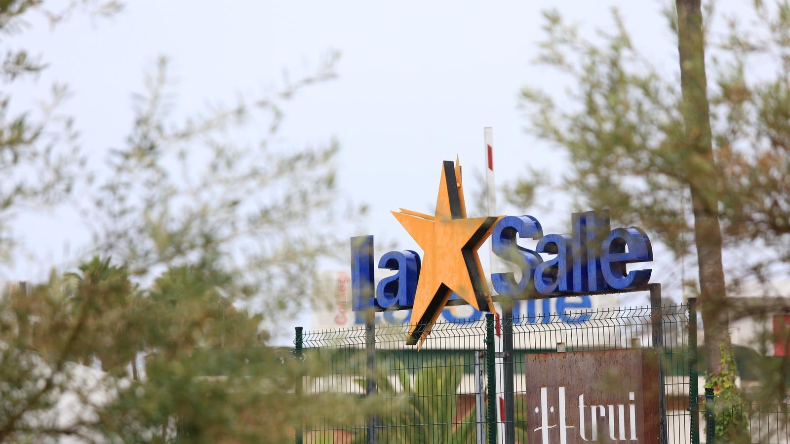 Imatge de l'escola de La Salle de Palma. / ISMAEL VELÁZQUEZ