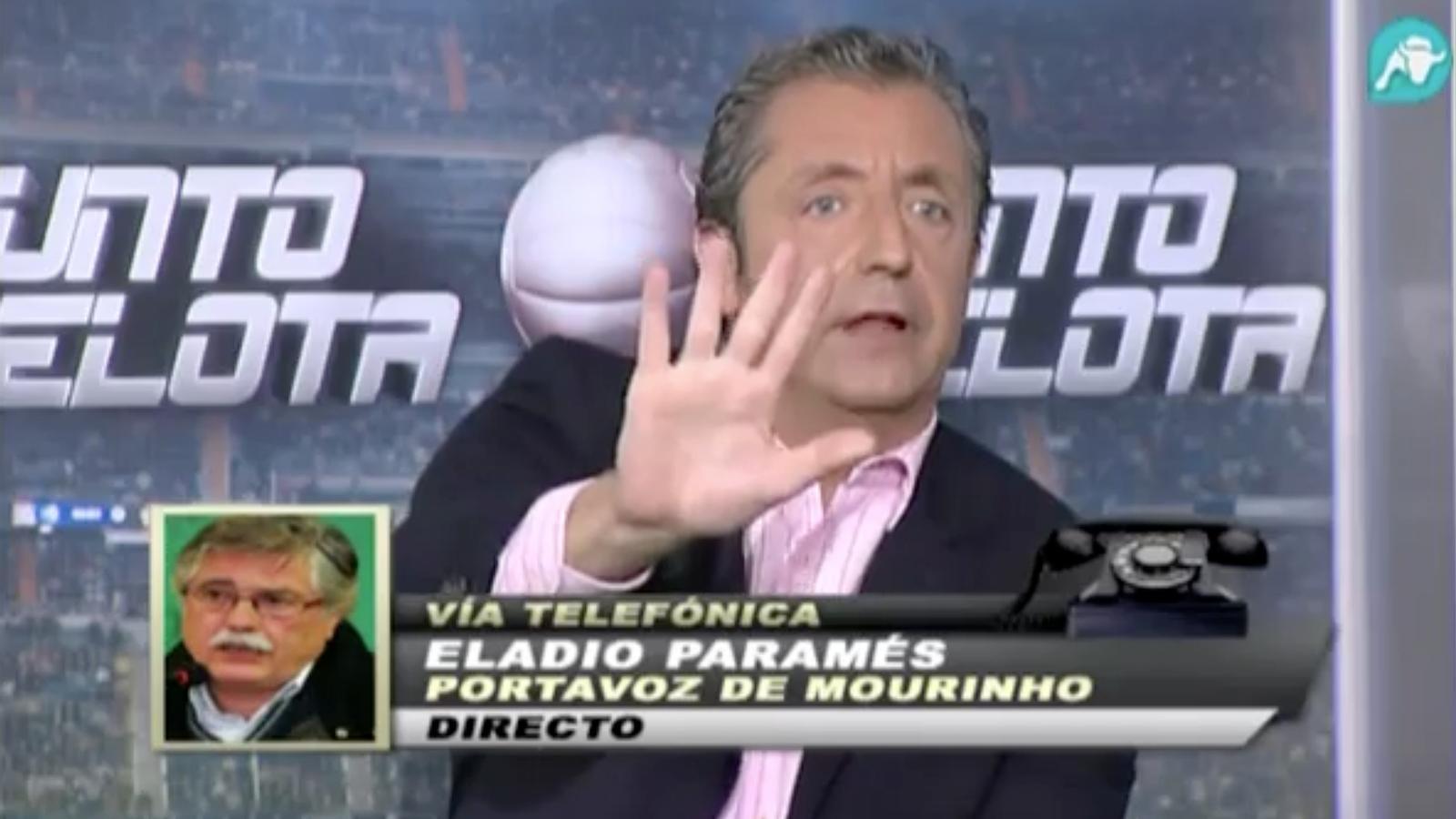 El fals i el veritable Eladio Paramés, junts a 'Punto Pelota'