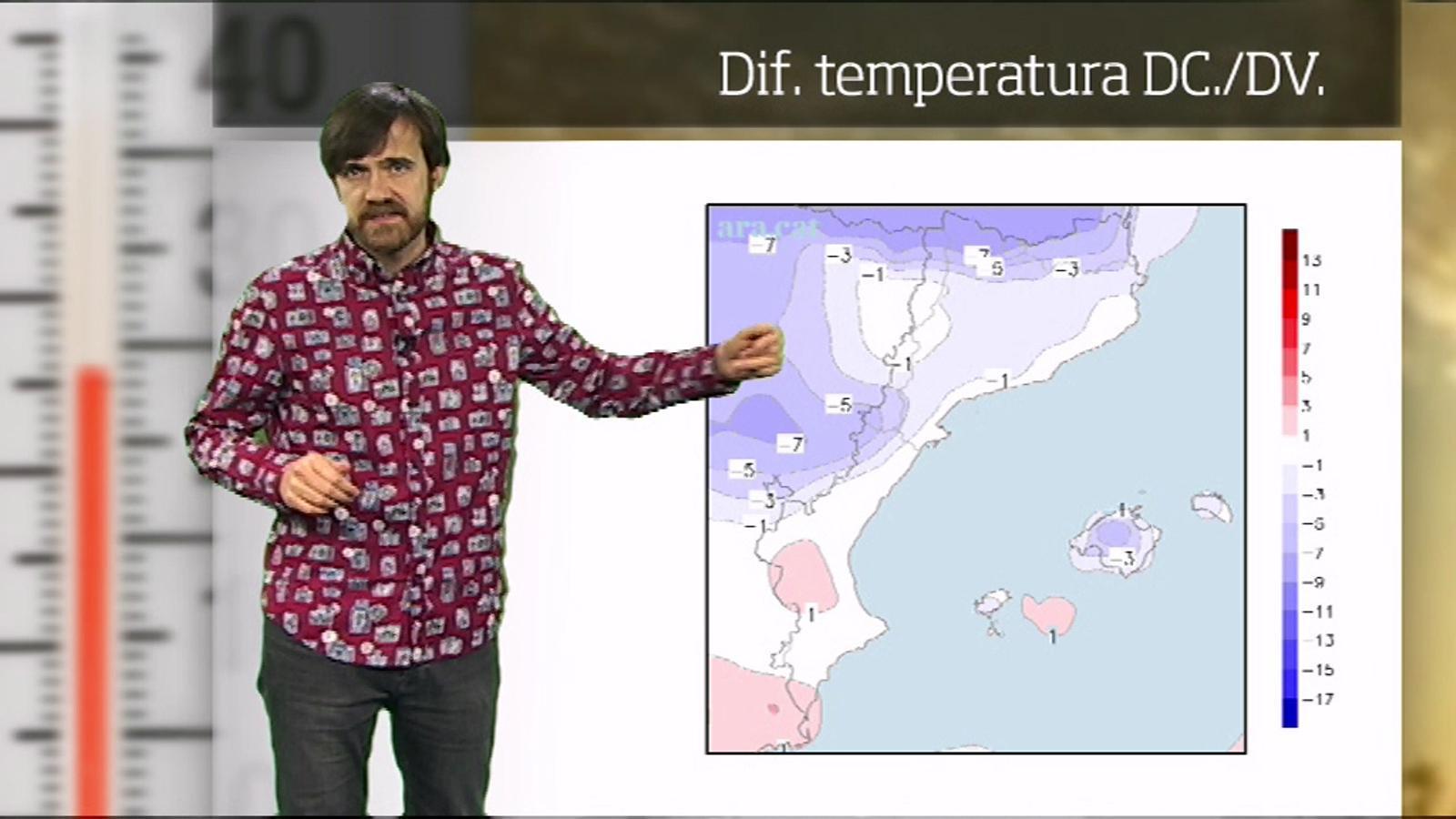 La méteo en 1 minut: dijous encara més primaveral a l'espera d'una baixada de temperatura