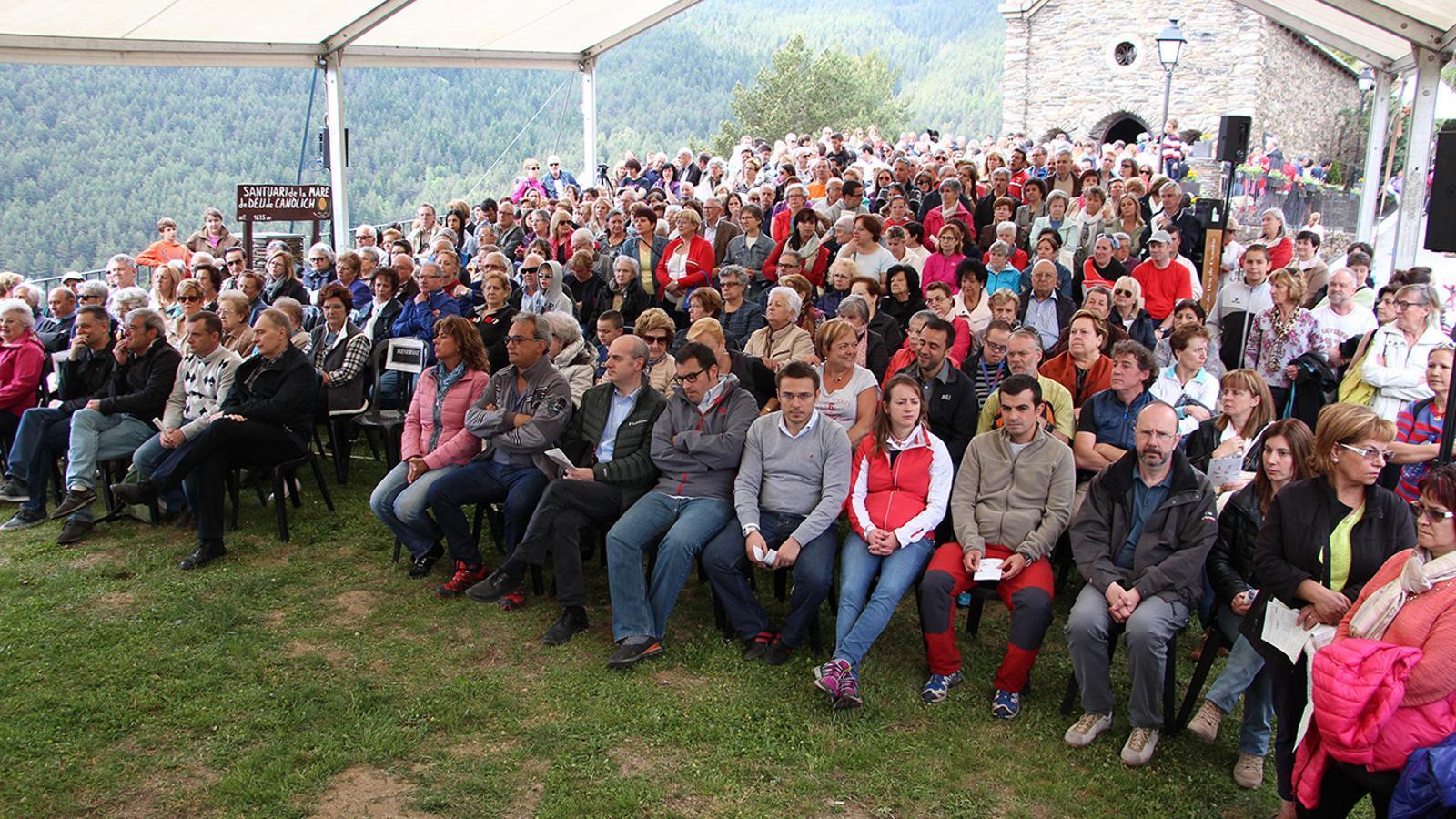 Munió de gent a la Diada de Canòlich de l'any passat / ANA