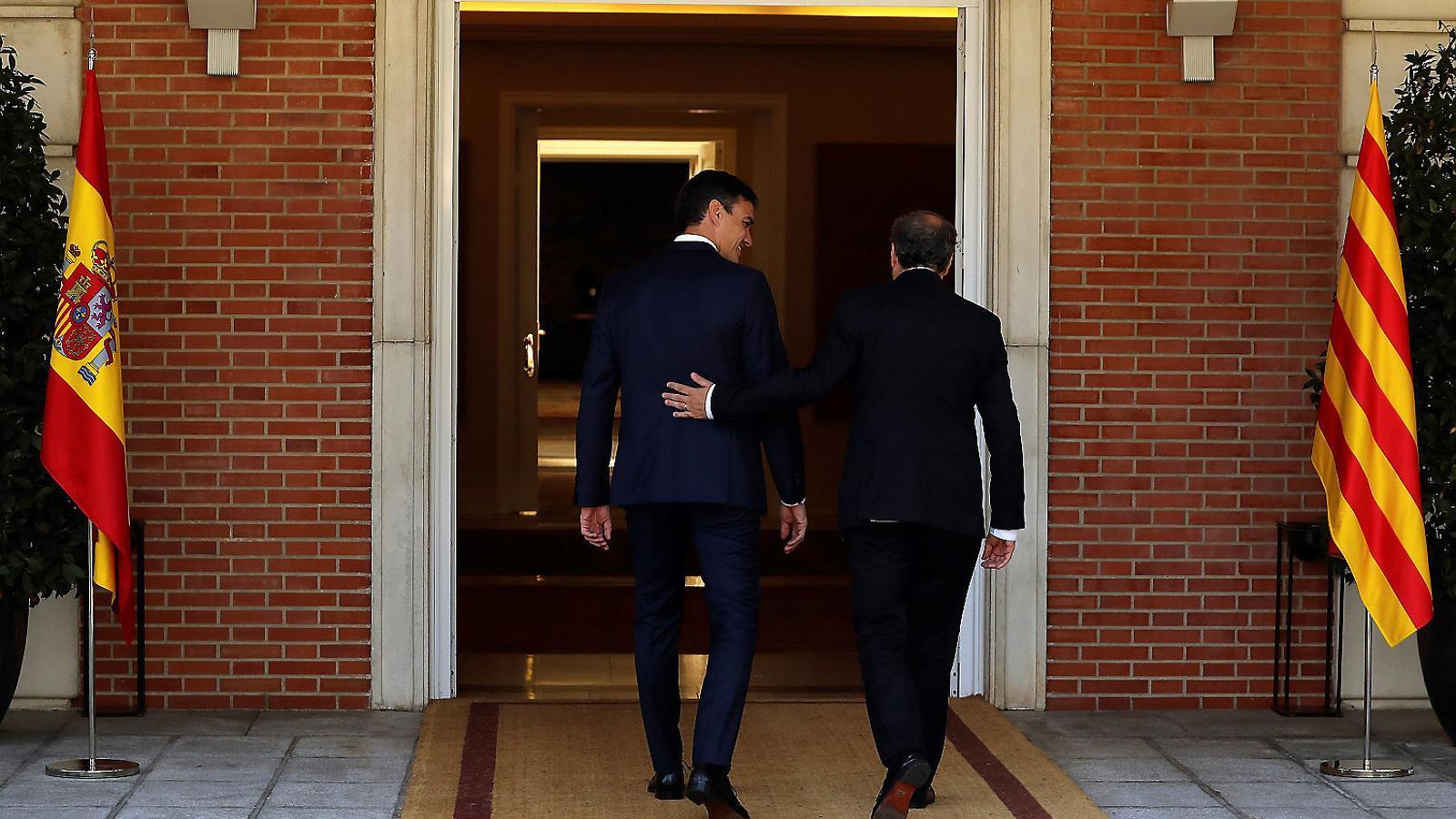 Govern i Moncloa pacten la reunió però no el format