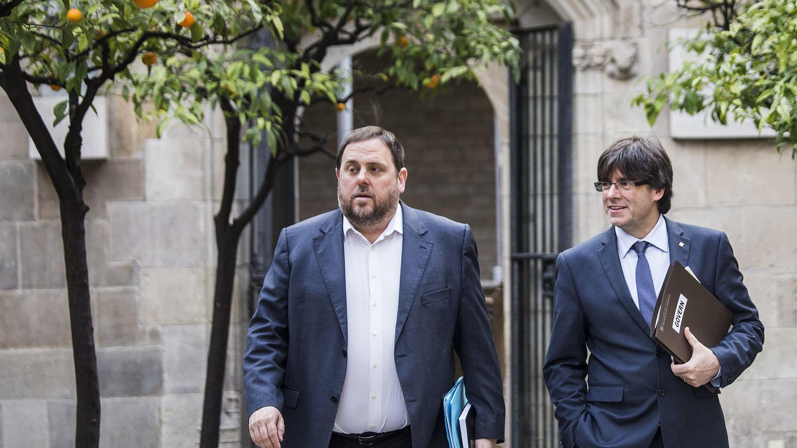 Les traves perquè Puigdemont i Junqueras tornin a ser candidats