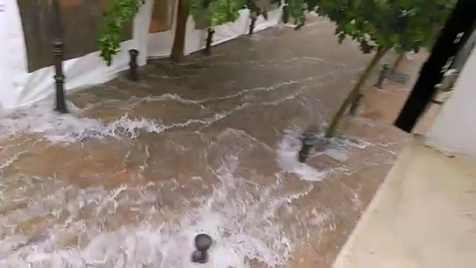 Tempesta a Ciutadella
