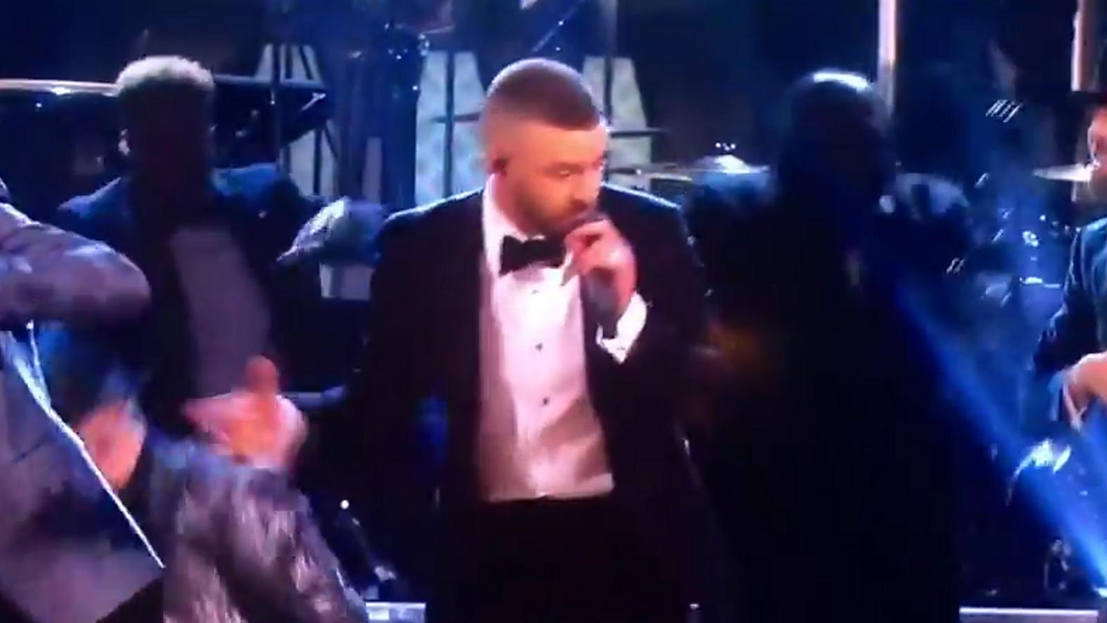 Justin Timberlake actuació Oscars 2017