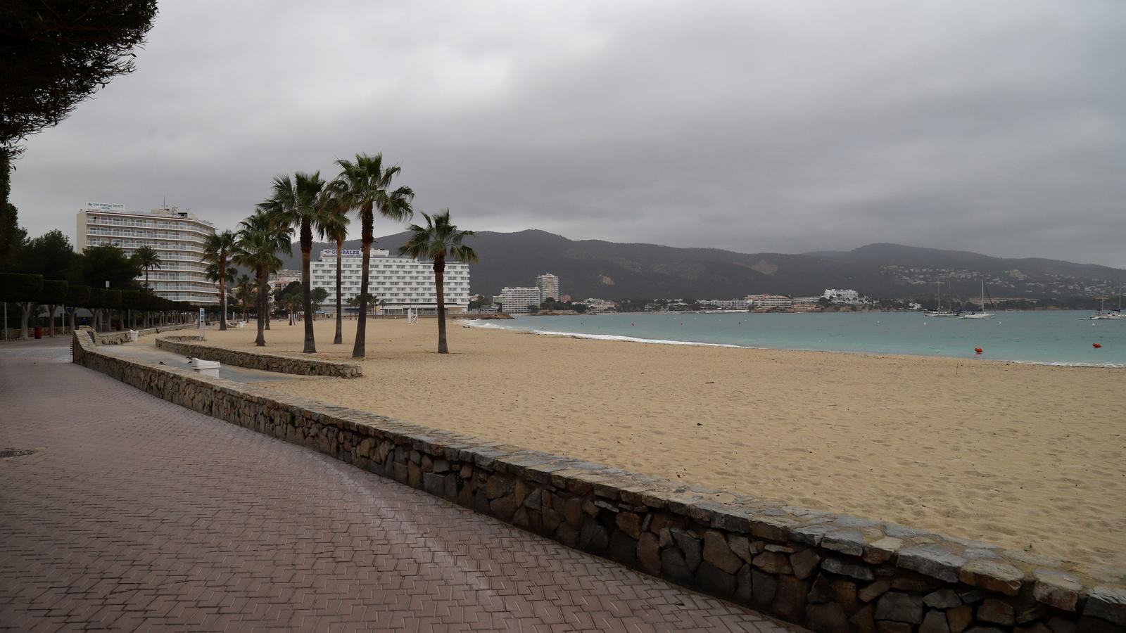 Cel tapat de niguls aquest dimecres a les Balears.