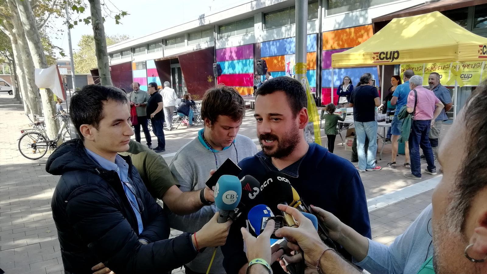 """La CUP acorda bloquejar el Parlament per la deriva """"autonomista"""" del Govern"""