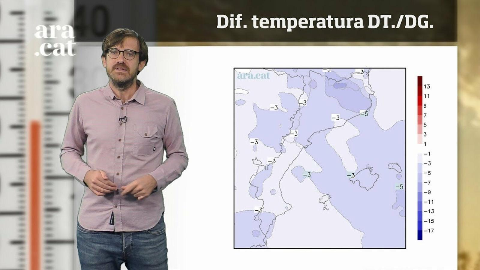 Méteo especial: arriben el fred, més ventades i una nevada important