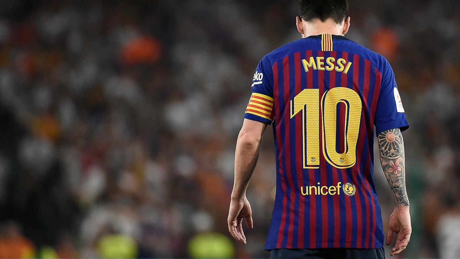 La soledat de  Lionel Messi