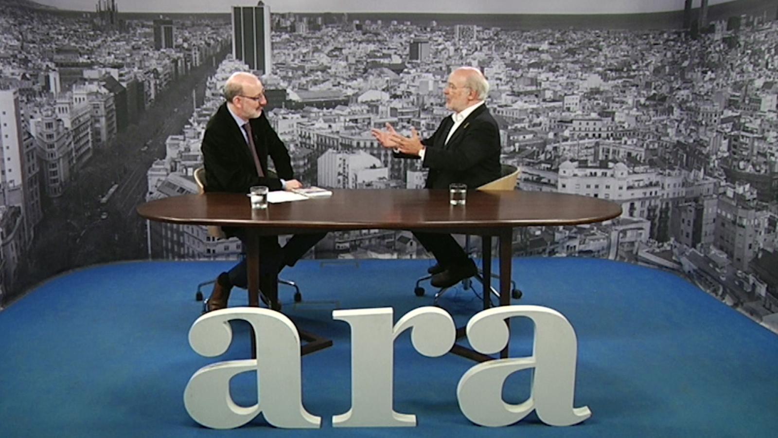 Entrevista d'Antoni Bassas a Josep-Maria Terricabras