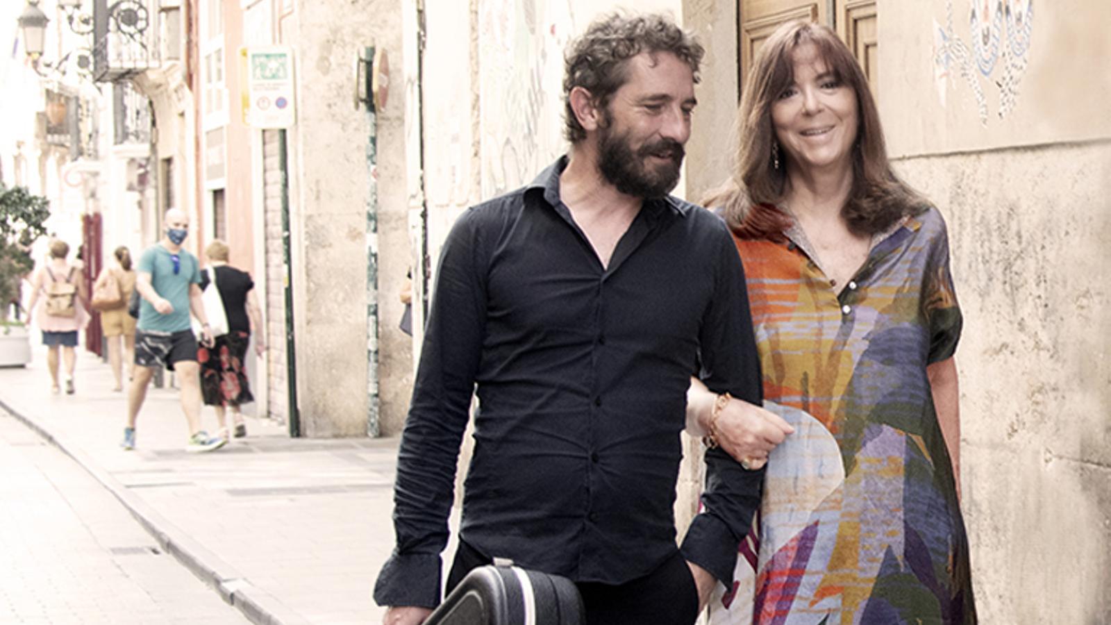 Borja Penalba i Maria del Mar Bonet.