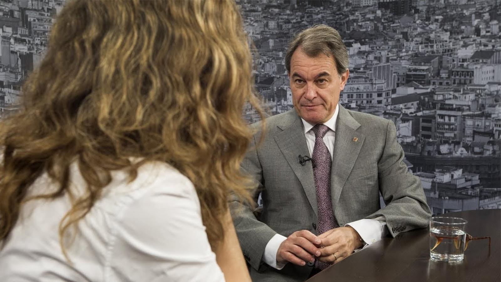 """Artur Mas: """"A l'ADN de Ciutadans hi ha la destrucció i la discòrdia"""""""
