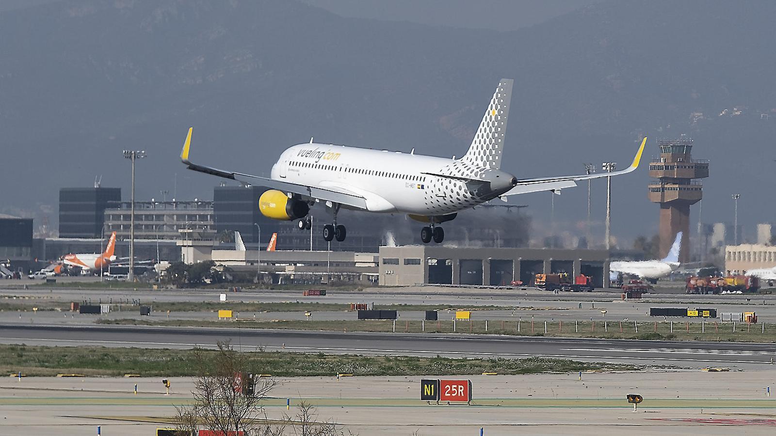 Vueling és la principal aerolínia de l'aeroport del Prat, molt per davant de la resta.