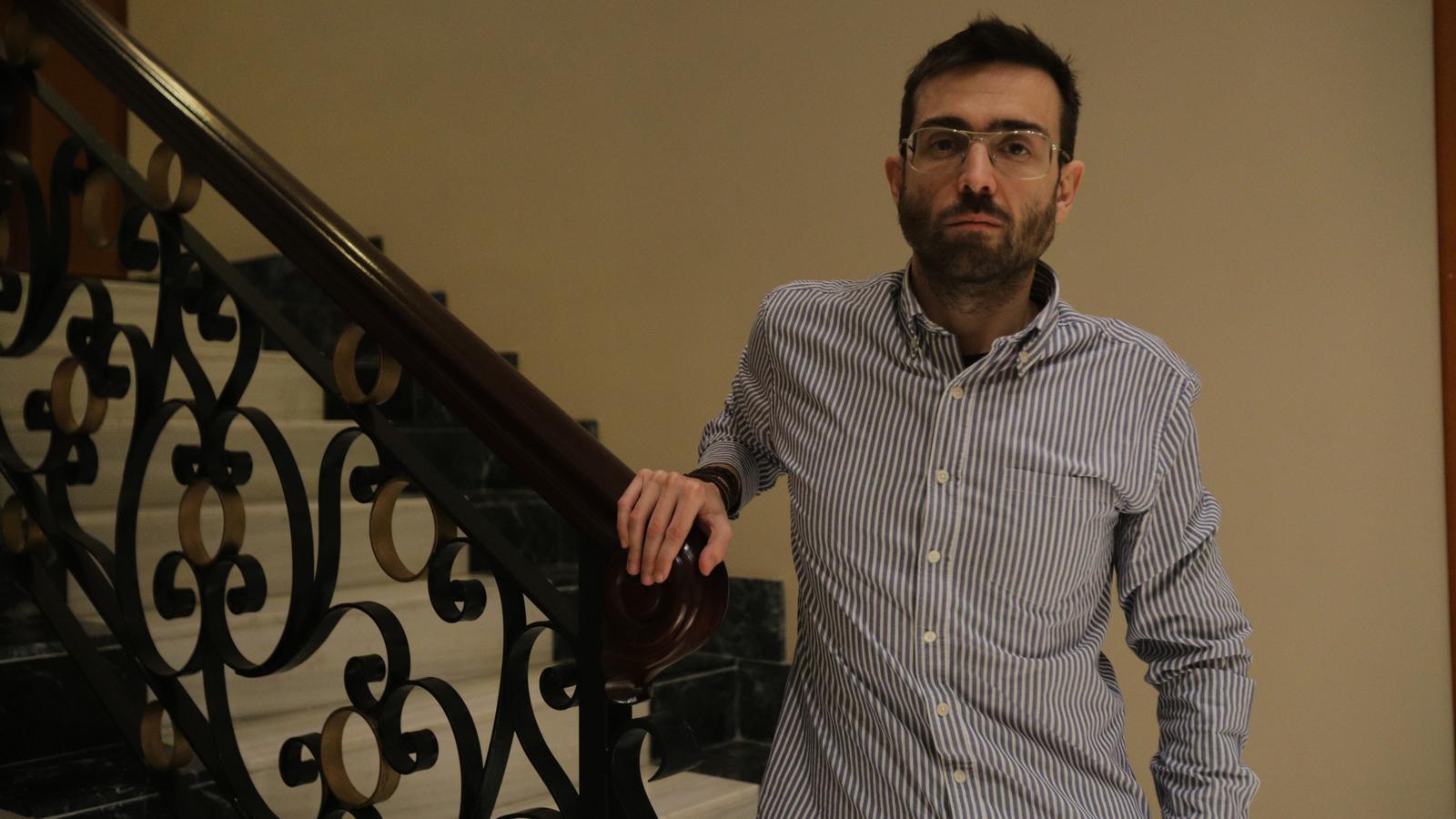 Kiko Llaneras és expert en anàlisi de dades, gràfics i processos electorals.