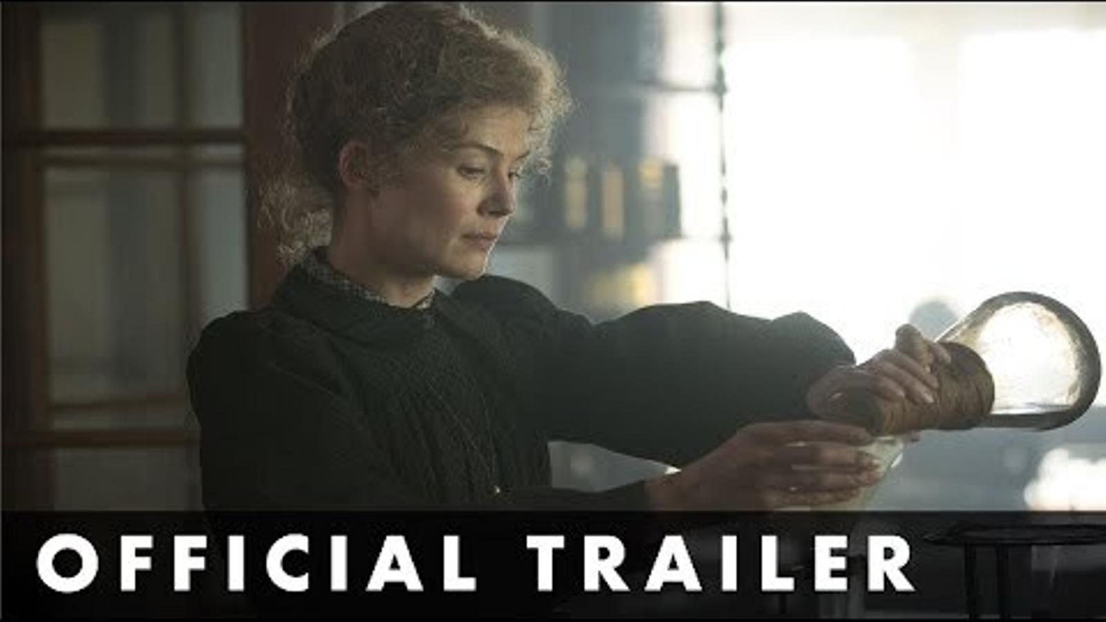 'Marie Curie', tràiler
