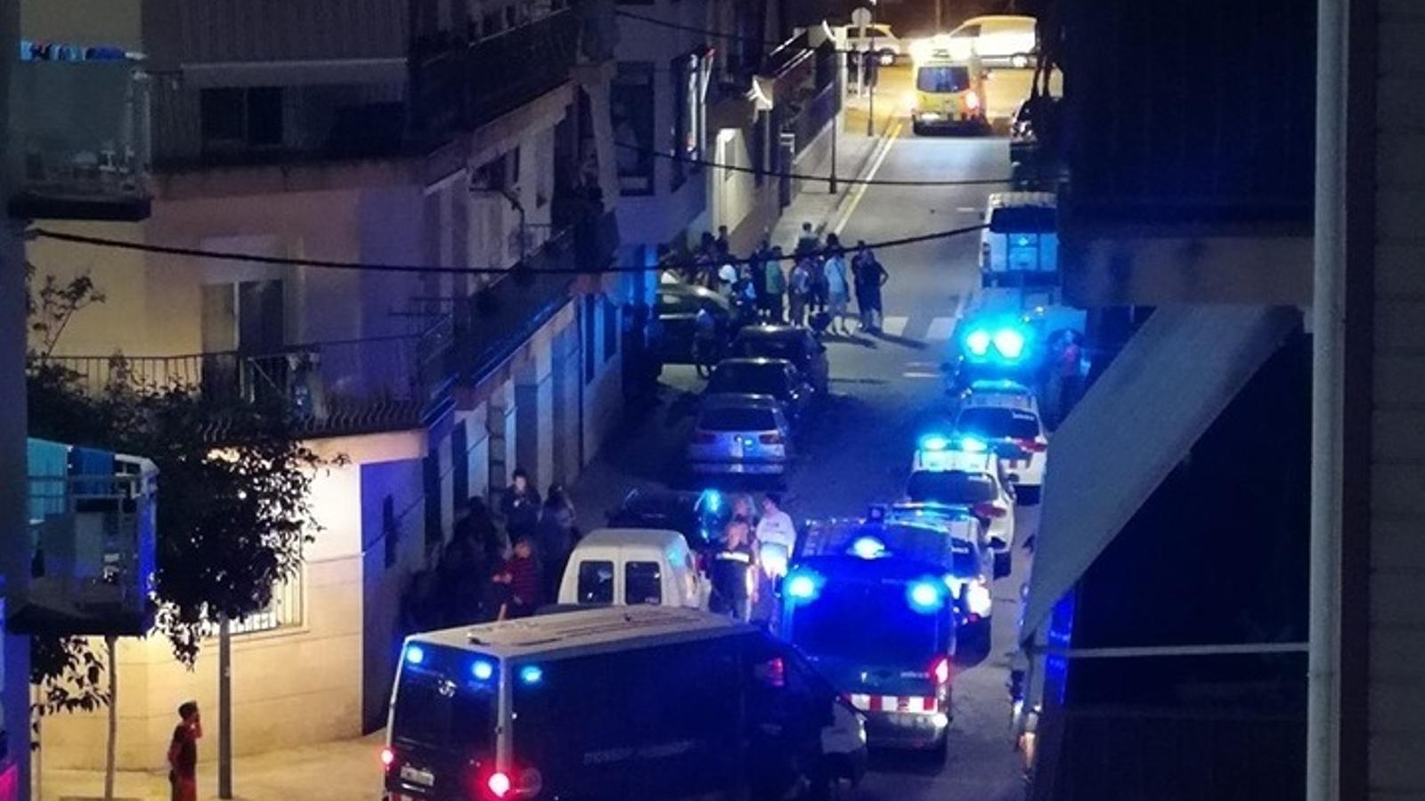 Una discussió entre MENA i joves de Calella provoca denúncies per part de veïns