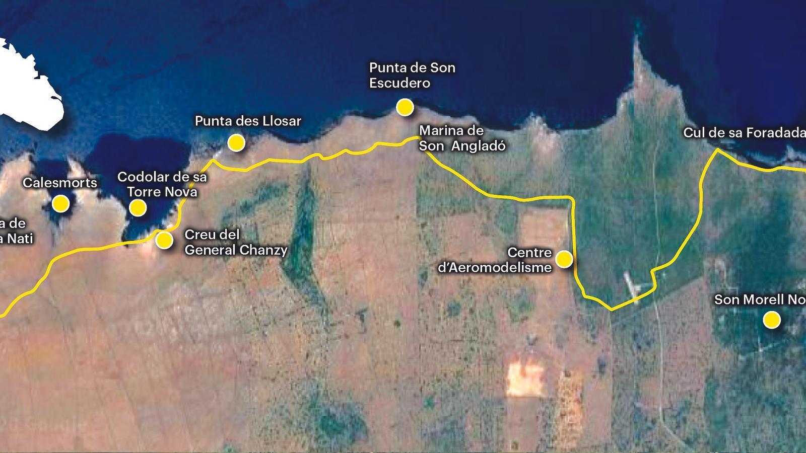De Cala Morell a Punta Nati, la vasta i inhòspita costa nord de Ciutadella