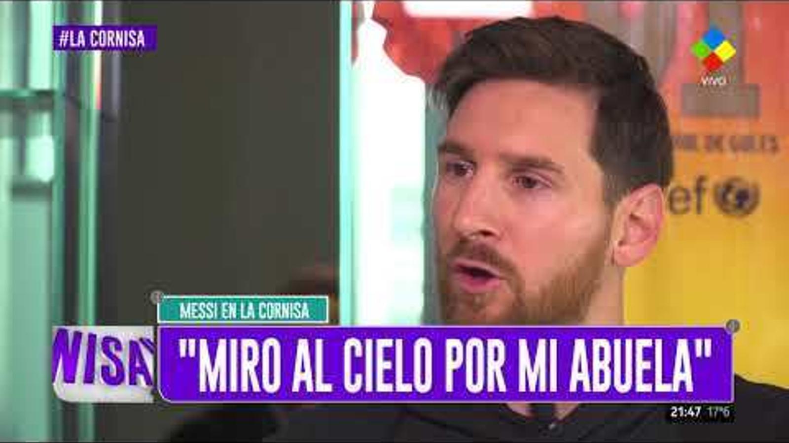 Leo Messi, entrevistat a 'La Cornisa