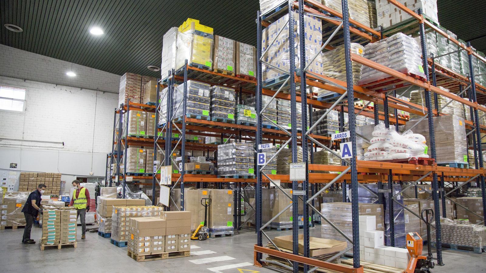 El Banc d'Aliments atén prop de 160.000 persones