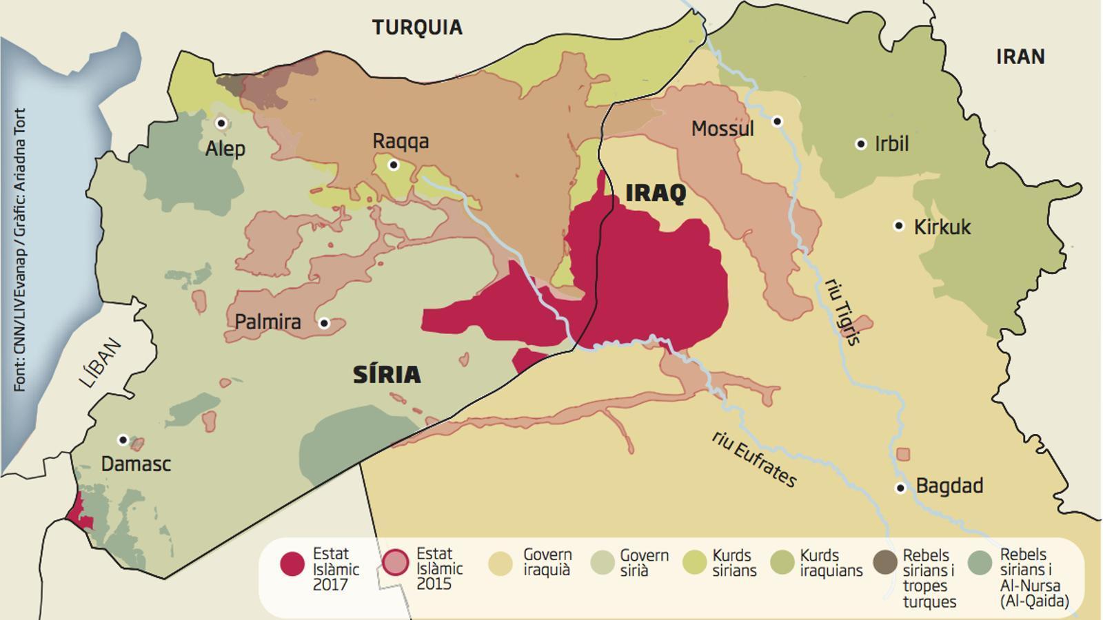 Què passarà amb el grup terrorista ara que ha perdut el seu territori?