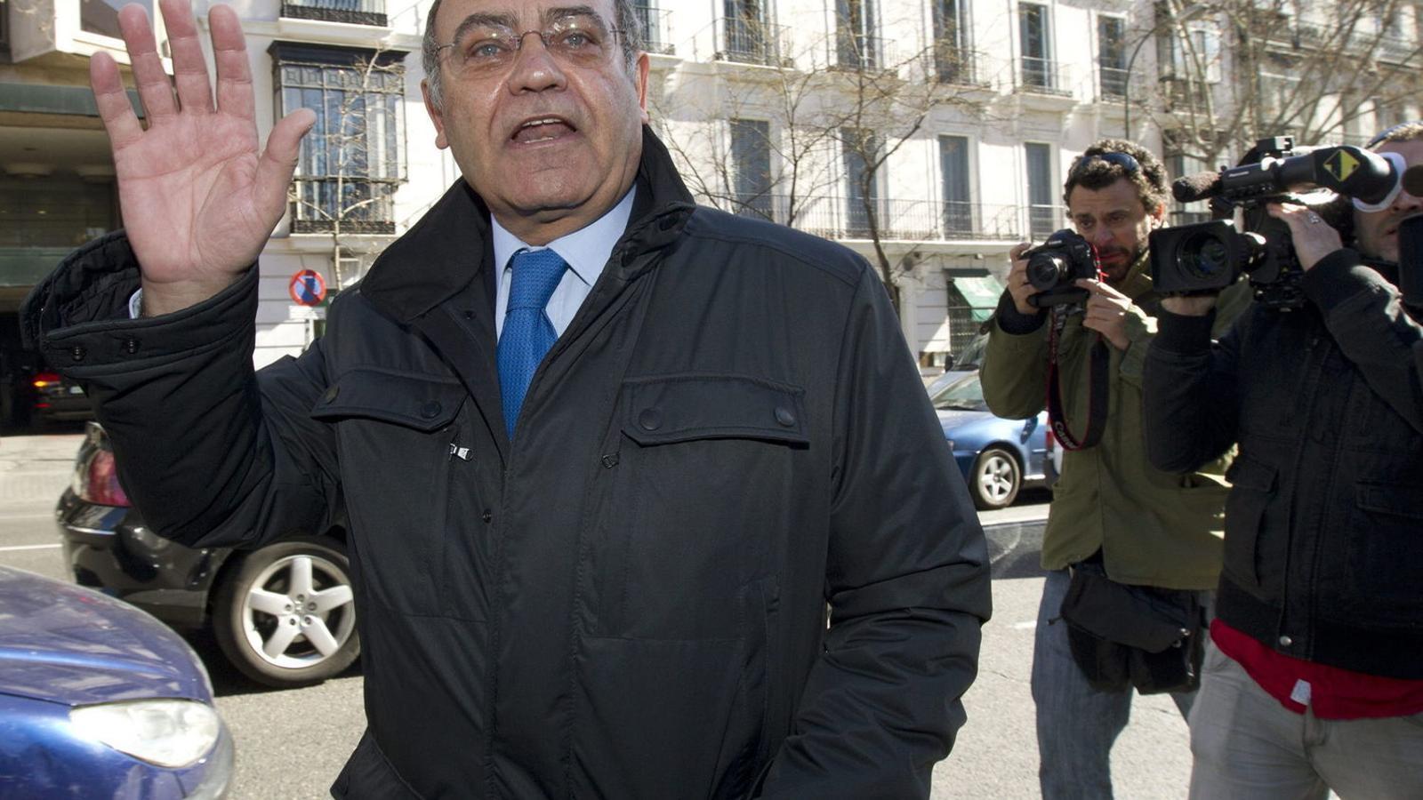L'expresident de la CEOE Gerardo Díaz Ferrán.