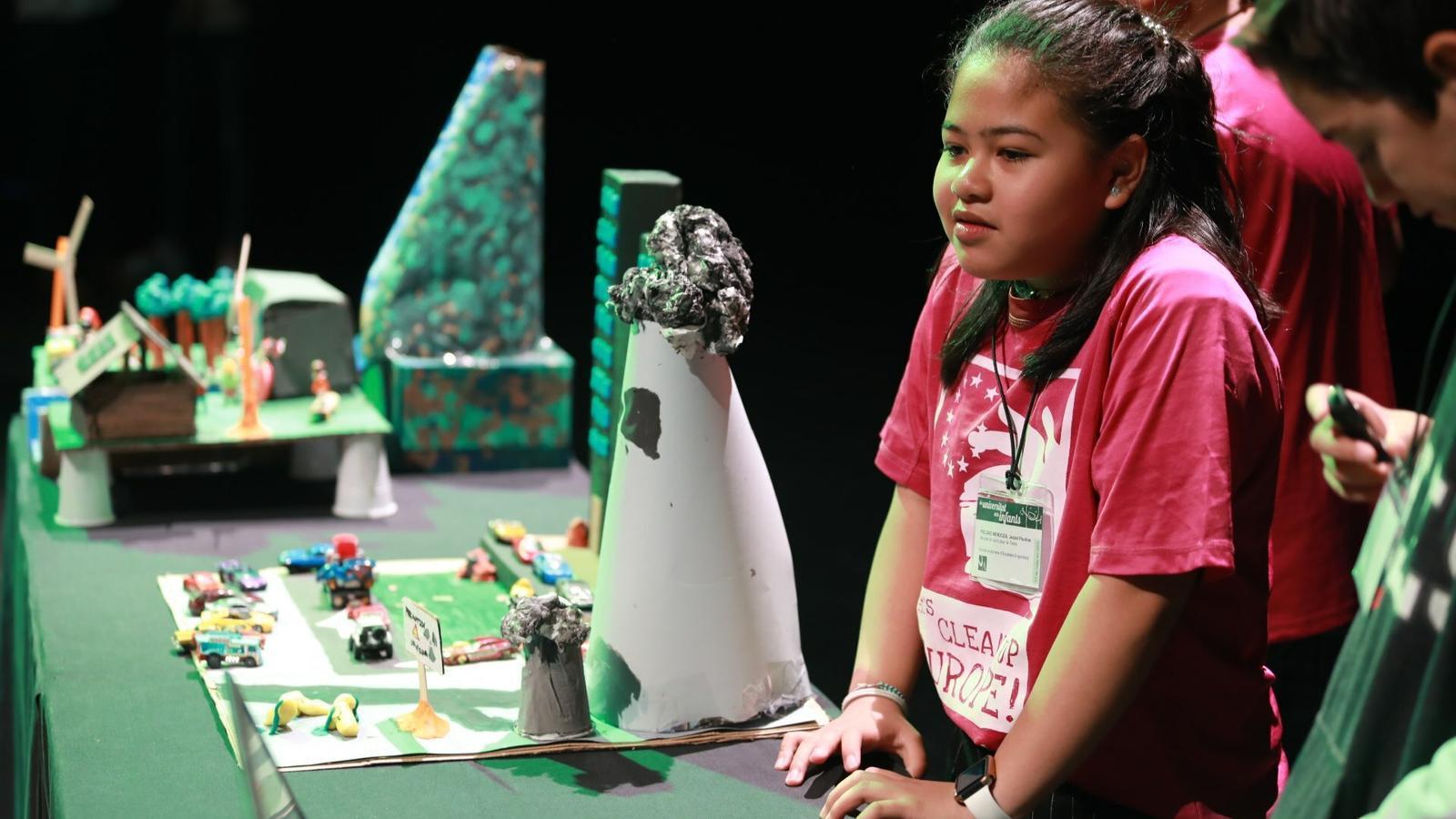 Els nens assistents a la 6a edició del Congrés de ciència a la vida quotidiana. / UdA