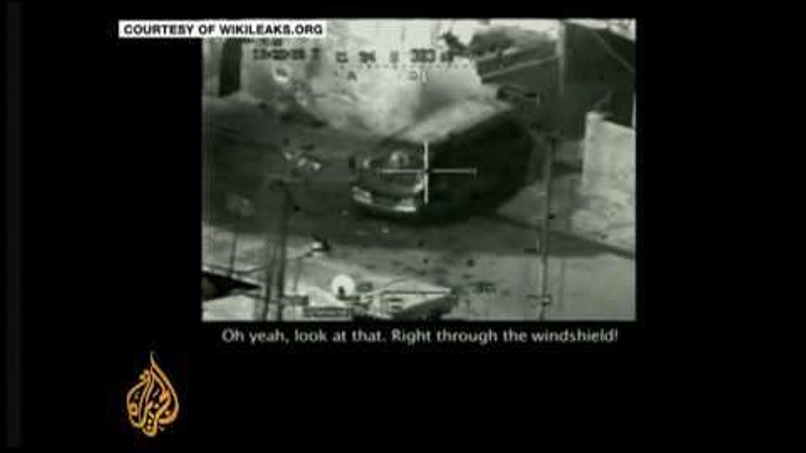 El vídeo de l'atac del 2007 a Iraq que va desfermar la tempesta de Wikileaks