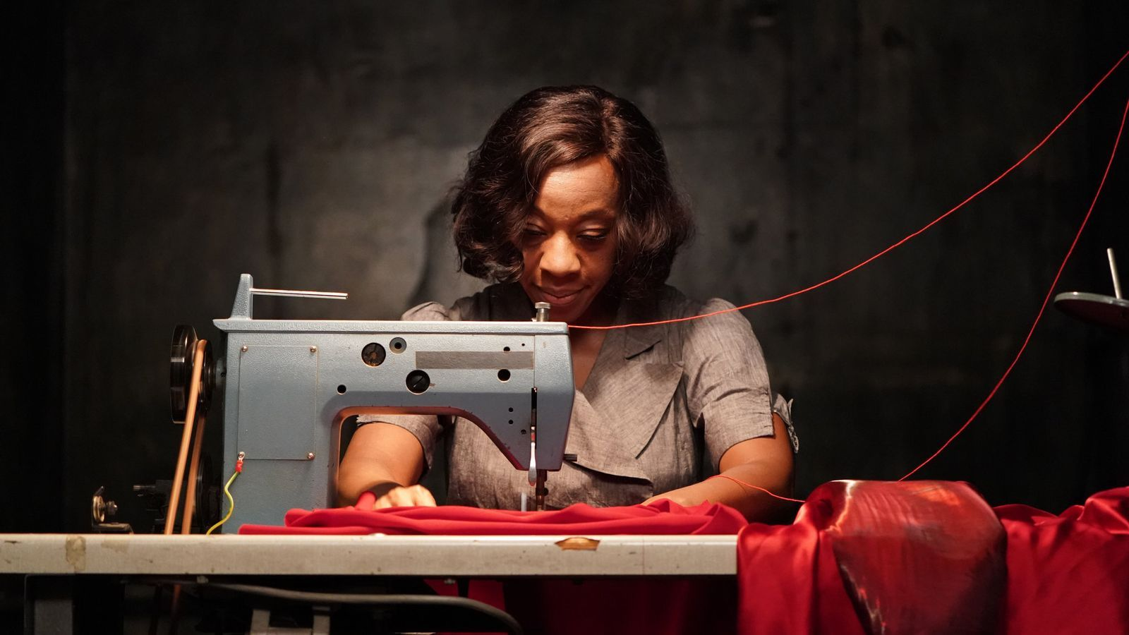 Marianne Jean-Baptiste  a 'In fabric'