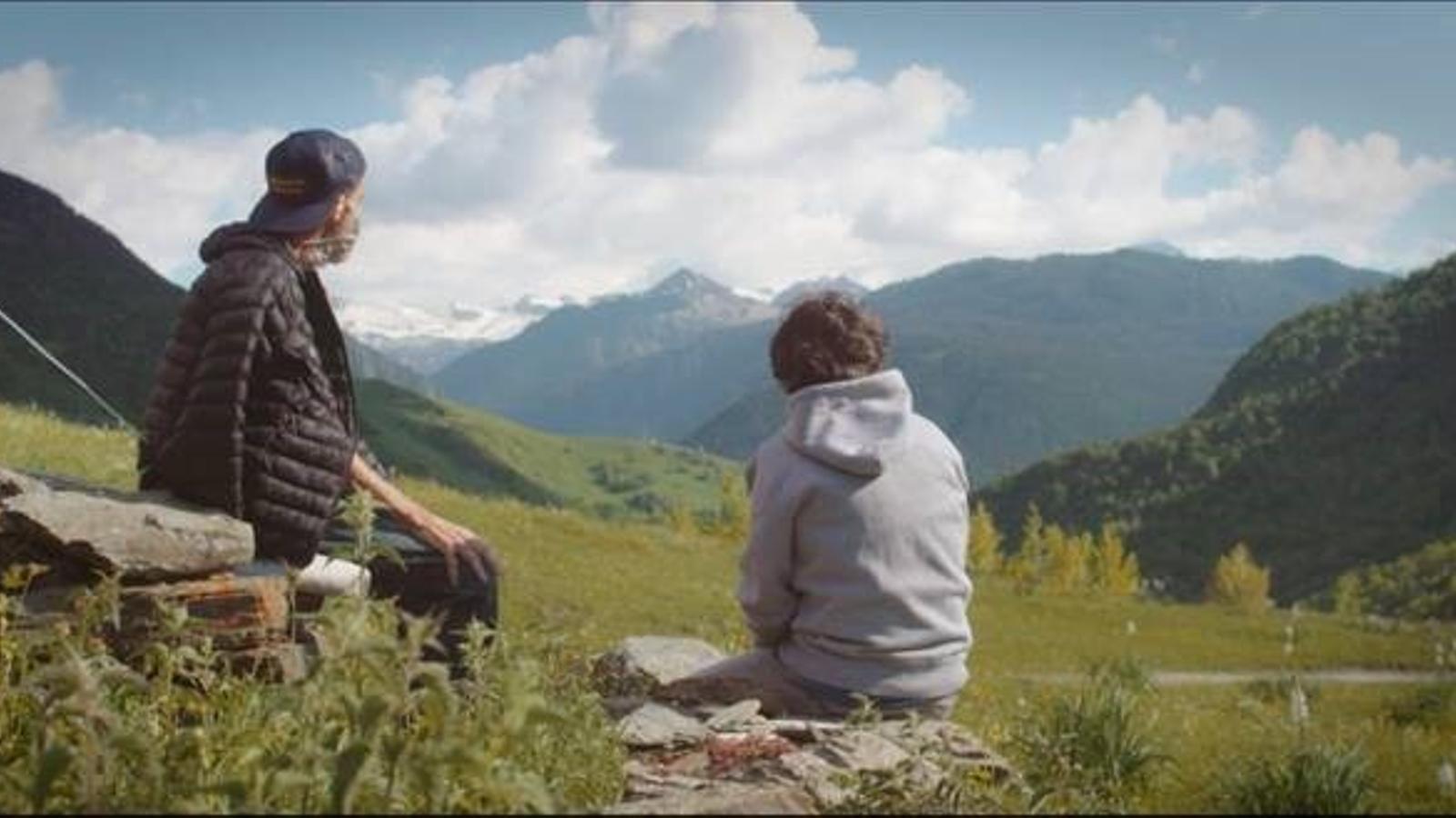Pau Donés i Jordi Évole al documental 'Eso que tú me das'