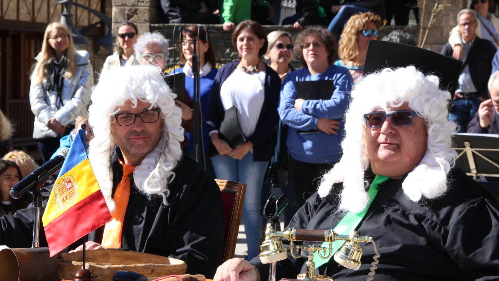 Jutges a Ordino. / M. R. F.