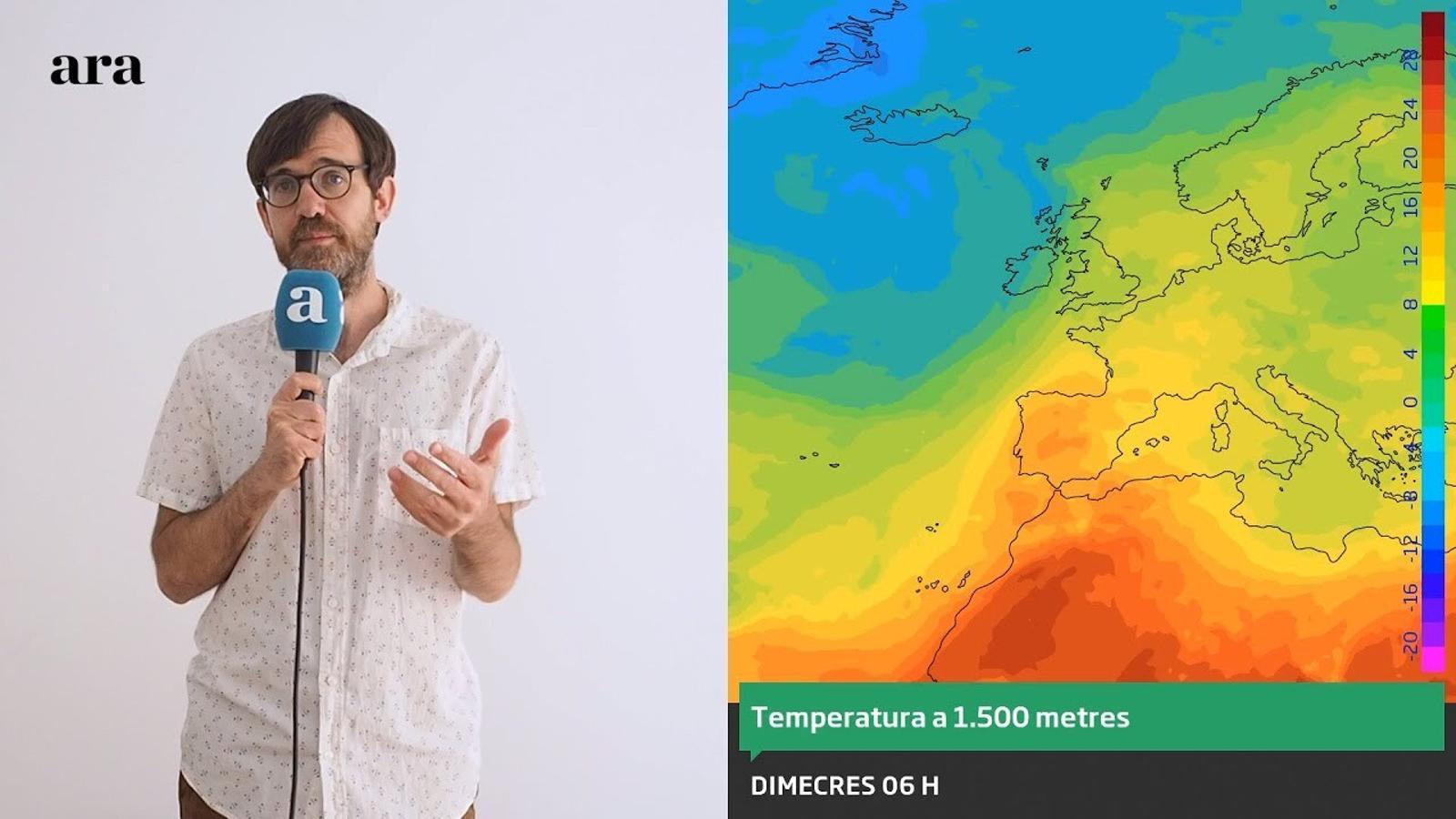 La méteo: dissabte amb algunes tempestes de tarda a l'espera de la calor