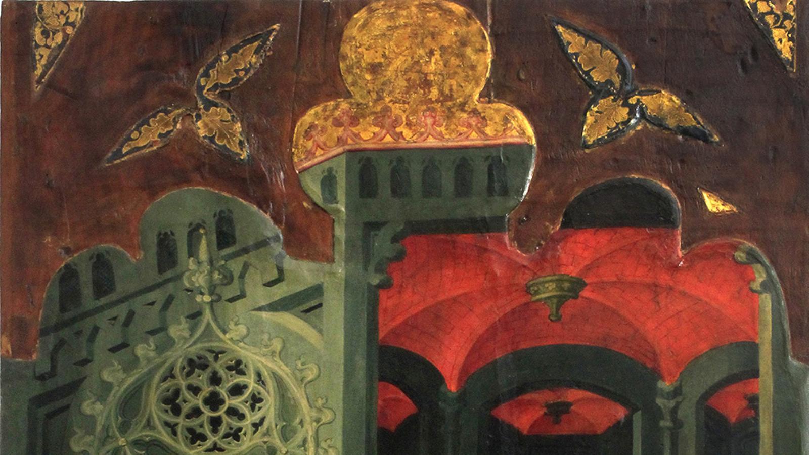 'Professió de Sant Pere Màrtir', de Lluís Borrassà