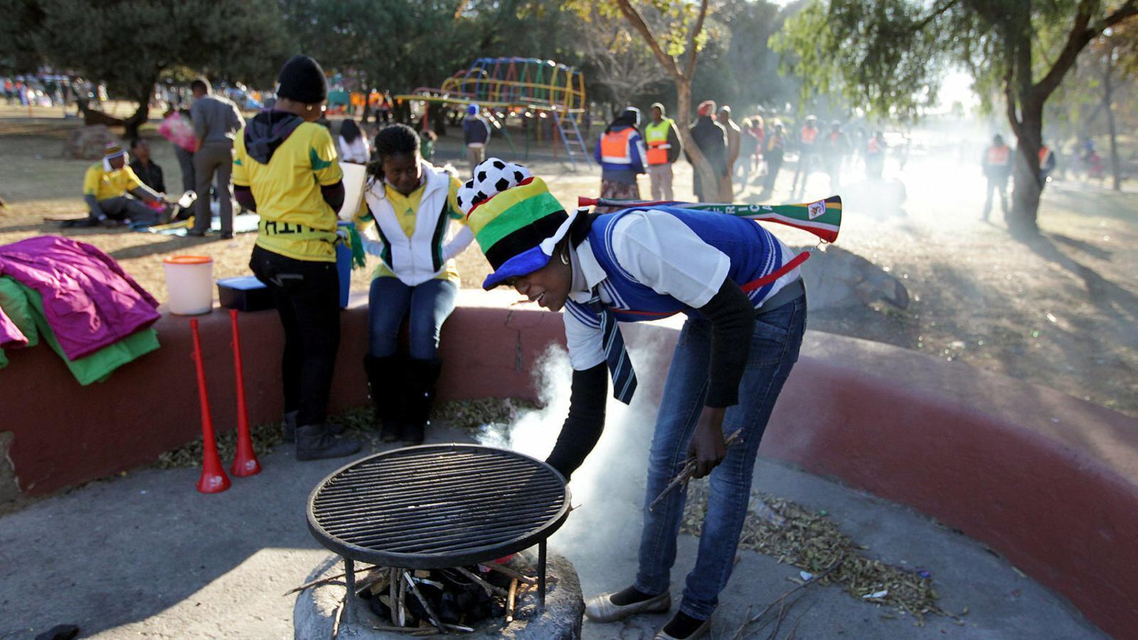 La barbacoa, l'únic que uneix Sud-àfrica