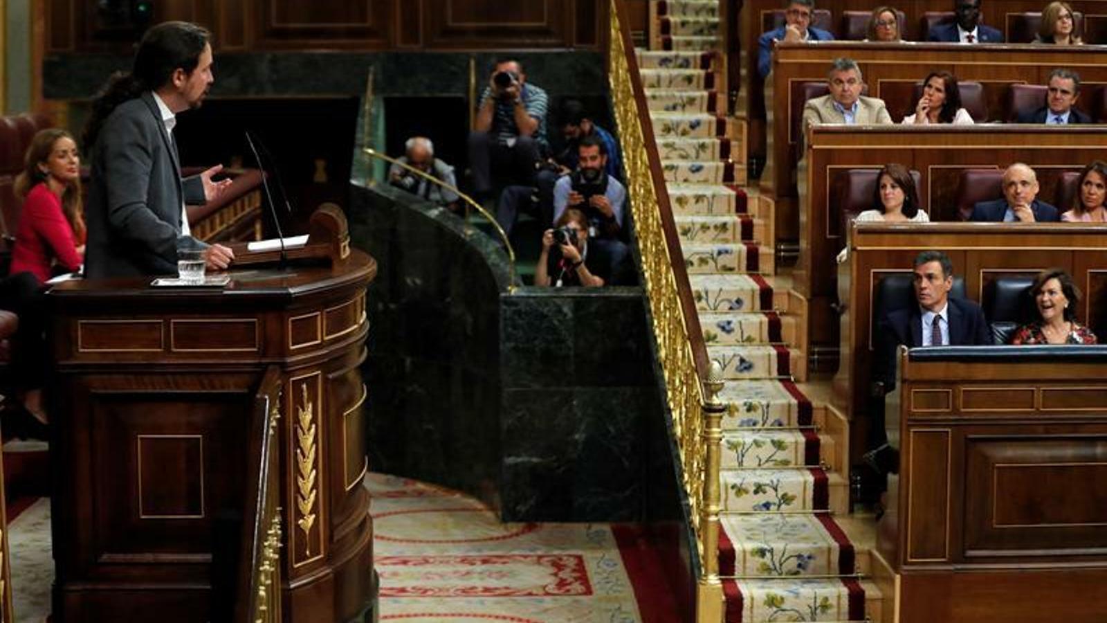 Sánchez rebutja una reunió amb Iglesias i l'emplaça a presentar una alternativa a la coalició
