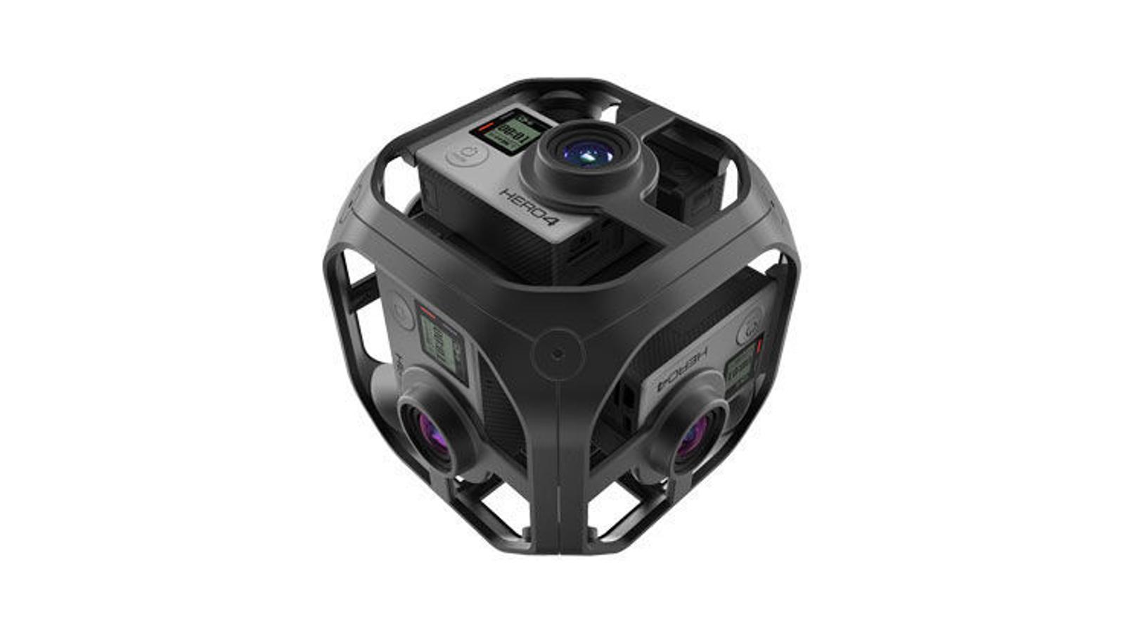Omni està format per sis càmeres Hero4. / GOPRO