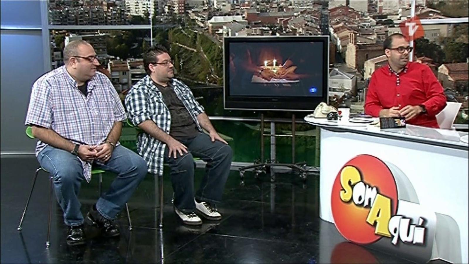 Ara Vadejocs al Som Aquí de Canal Terrassa Vallès (10/10/2011)