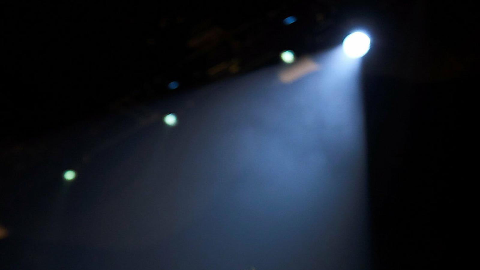 Florence Welch durant el concert d'ahir al Palau Sant Jordi.