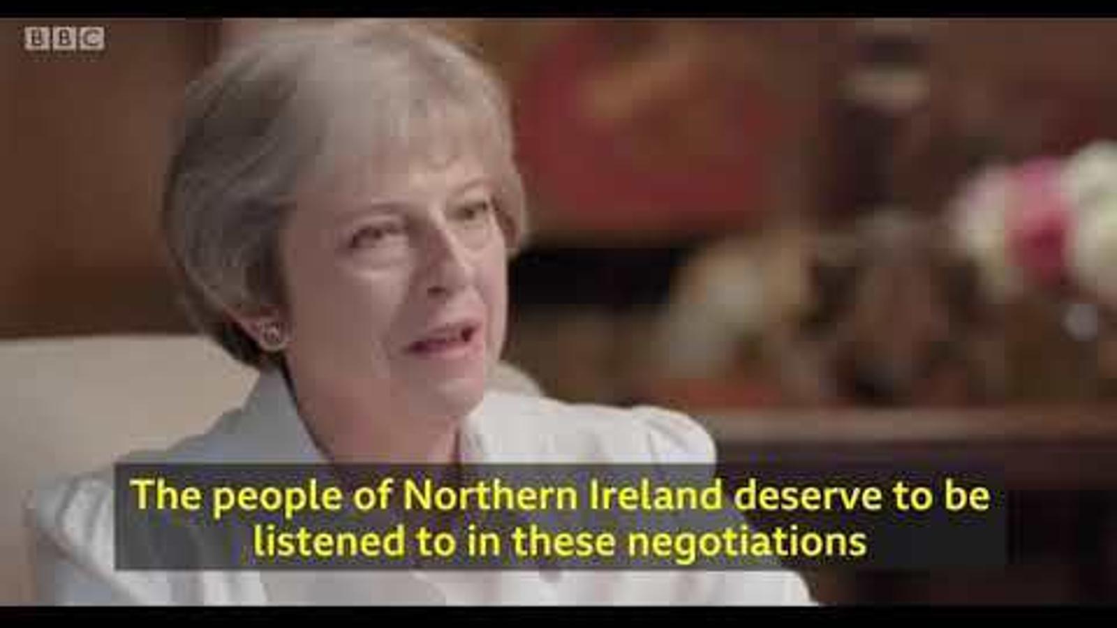 Theresa May etziba un ultimàtum: o s'aprova el seu pla per al Brexit o no n'hi haurà pacte amb la UE