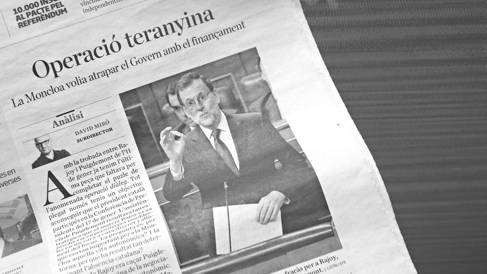 L'anàlisi d'Antoni Bassas: 'Diàleg sense oferta'