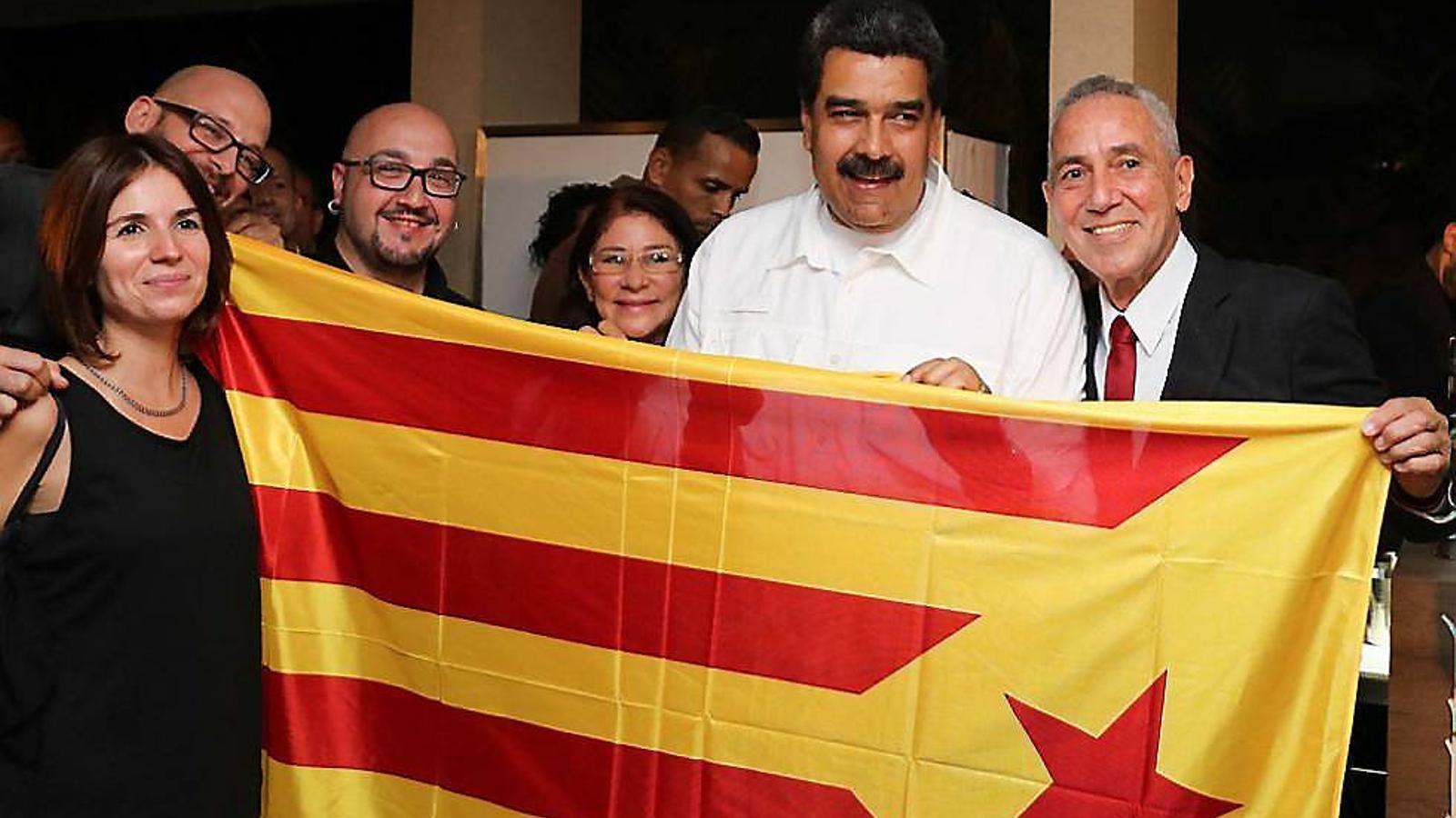 ¿Ens ha d'incomodar Maduro  amb l'estelada?