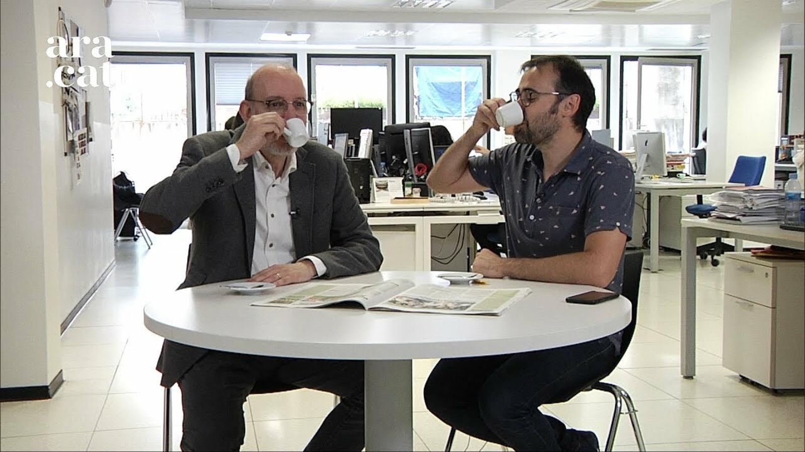 El cafè de la Lliga: 'El Valladolid pagarà demà els plats trencats del mal joc de Praga'