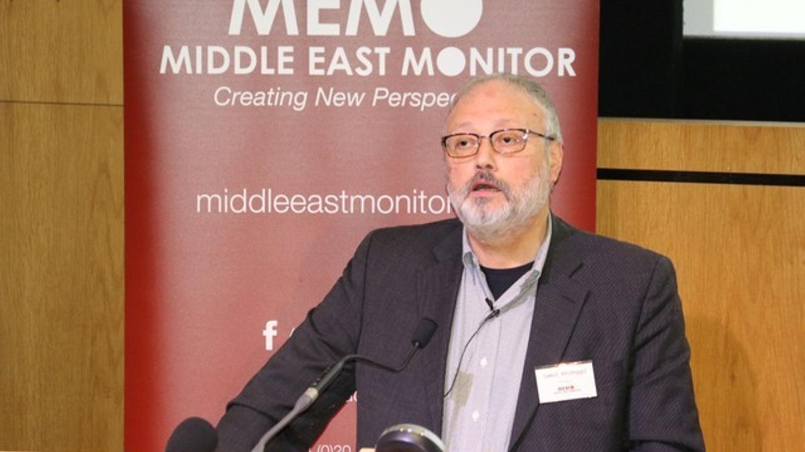 Imatge d'arxiu del periodista saudita assassinat Jamal Khashoggi.