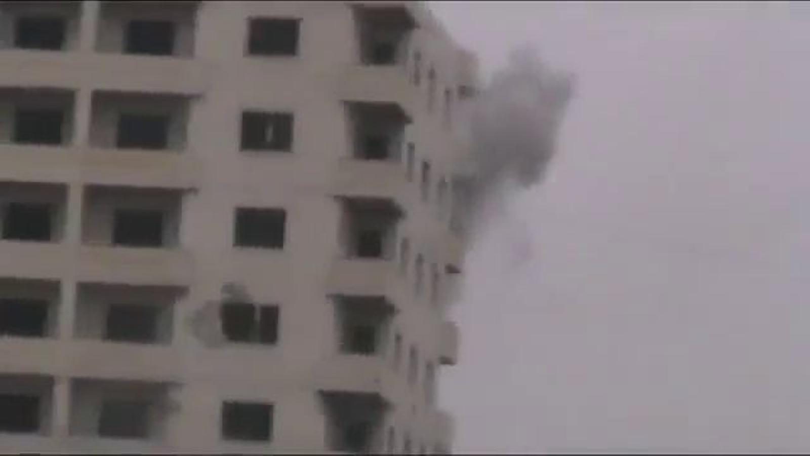 Tancs sirians bombardegen la ciutat d'Homs