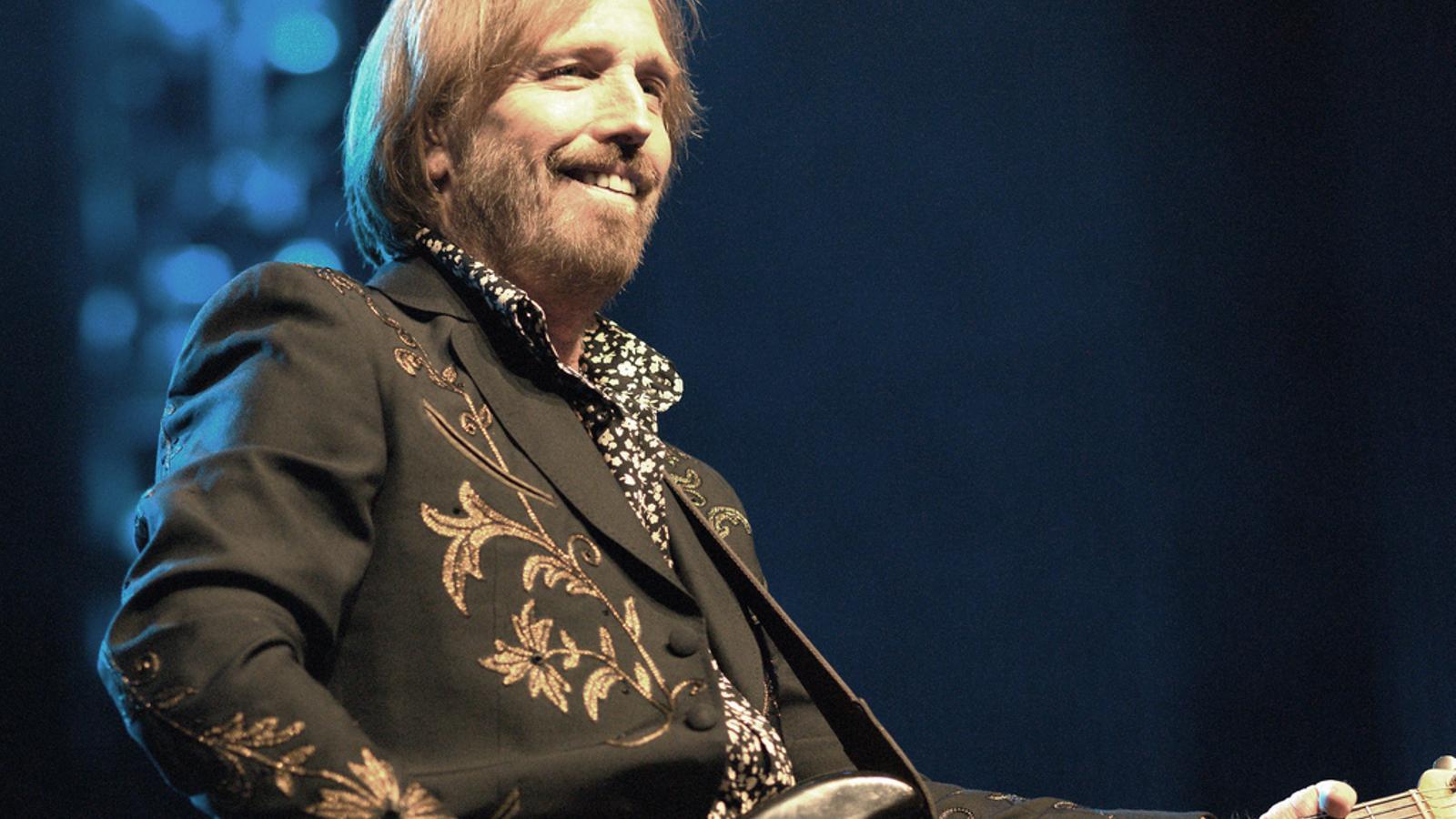 El cantant Tom Petty en un concert del juny del 2010 a Rússia