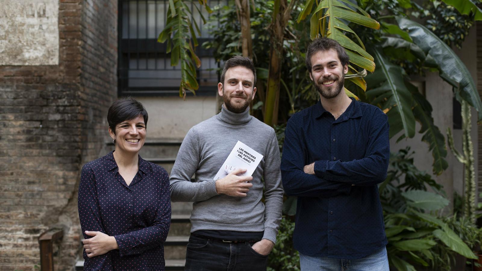 """Montse Riart, Maiol Roger i Ot Serra: """"El 20-S és l'excusa que necessitava l'Estat per fer tot el que estava preparant"""""""