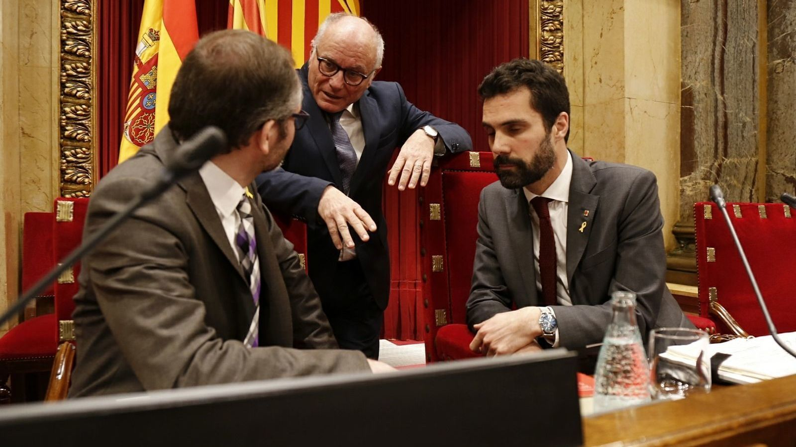 JxCat i ERC veuen electoralisme en la moció de la CUP per l'autodeterminació i el cessament de Buch