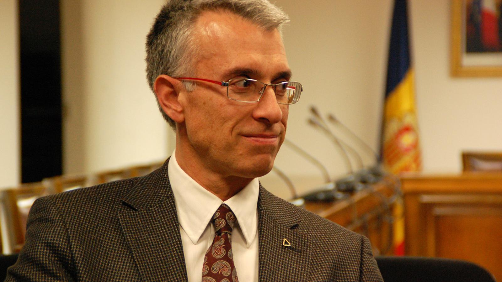 El cap de de l'Àrea de Planificació Turística i Econòmica, Sergi Nadal / Arxiu ANA