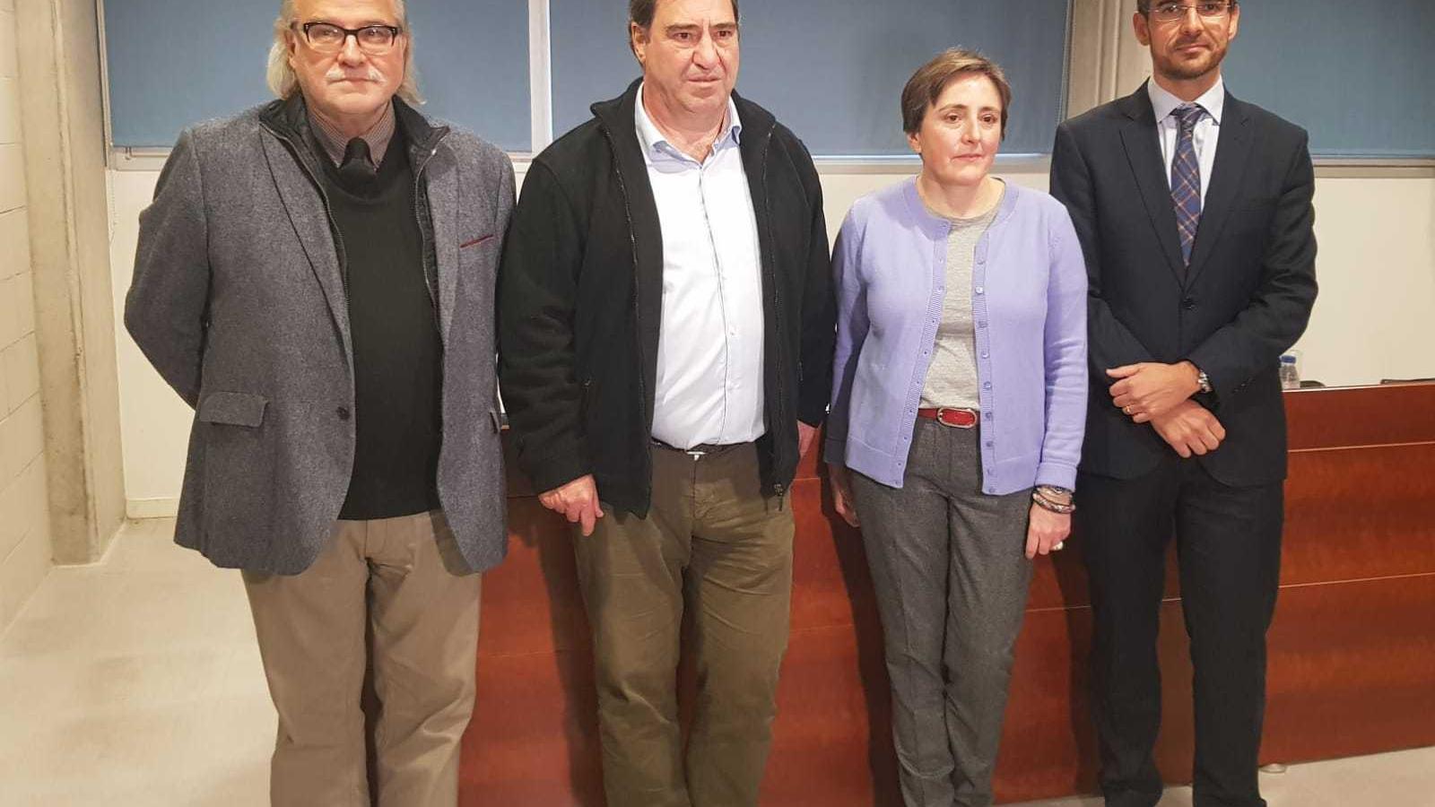 Joan Carrau, Benita Benéitez, Jaime Campaner i Andreu Manresa aquest divendres a la UIB